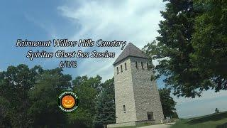 Spiritus Ghost Box Session at Fairmount Hills Cemetery on 6/11/16