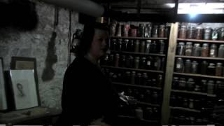 RIP clip Hanna House basement/raw footage Indianapolis IN.