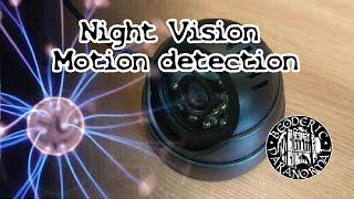 USB Night vision motion detection camera + Free ispy software - Beoderic short.