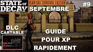 ☣ SOD YOSE DLC Septembre : Cartable (Comment XP rapidement)