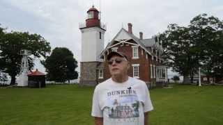 Haunted History Trail of New York State visits the Dunkirk Lighthouse