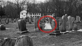 Most Haunted Cemetery In The World! Real Paranormal Activity Caught On Tape