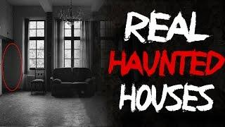 Top 5 Haunted Houses - Real Ghosts Caught on Tape (#ghost #scary) @FrostmareTV
