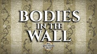 Bodies In The Wall | Ghost Stories, Paranormal, Supernatural, Hauntings, Horror