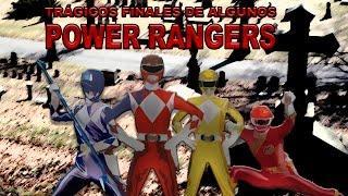 Trágicos finales de algunos Power Rangers