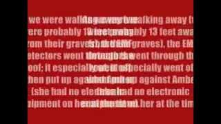Laurel Land Cemetery Paranormal Investigation