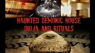 A HAUNTING - Real Haunted House, Ghost, Demons Conjured by Ouija Board Caught on Tape