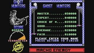 Commodore 64: Ghost Hunters game ending by Codemasters