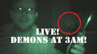 LIVE 3am PARANORMAL Investigation | HAUNTED Doll | Spirit GHOST Box Session | DEMONS In My Home!