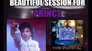A Special Session for Prince. Haunting, Beautiful Messages.