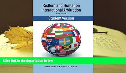 PDF [FREE] DOWNLOAD  Redfern   Hunter on International Arbitration TRIAL EBOOK