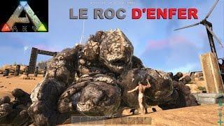 ARK SCORCHED EARTH [FR] LE ROC D'ENFER (BANDE ANNONCE #22) Visite des constructions