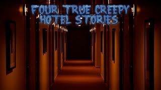 4 True Creepy Hotel Stories (Ft. Unit#522)