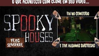 """Assunto Spooky Semanal - Youtuber """"Clone"""" e sua aventura no Cemitério"""