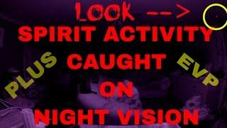 AMAZING LIGHTS CAPTURED WITH EVP! (THE LIGHT IS CINDY)