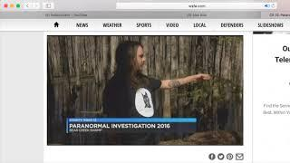 SPECTRAL WOLFPACK ON THE NEWS BEAR CREEK SWAMP PHANTOM LIGHT WSFA 12