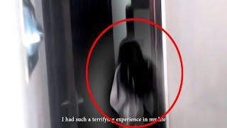 Girl Ghost With Long Hair Caught On Camera In An House!!