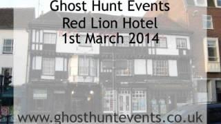 Brook Red Lion Hotel EVP 1 on 1st March 2014