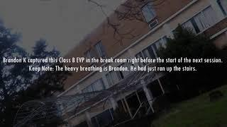 All EVP's From South Pittsburg Hospital Investigation