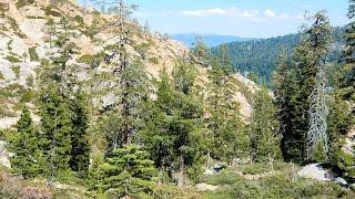 "Five Lakes Granite Chief Wilderness - Part 15 ""Bigfoot Lore With A Steep Descent"""