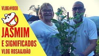 JASMIM E SIGNIFICADOS Vlog#008 Rosa&João - Caça Fantasmas Brasil