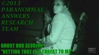Paranormal Answers Research Team, BLACK SHADOW TOUCHES RICK, Auburn, IN 11/9/13