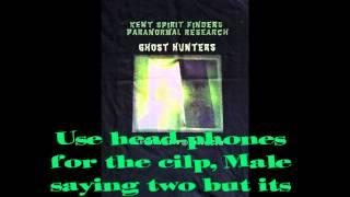 Spirit Box Session Essex.  Kent Spirit Finders Paranormal Research