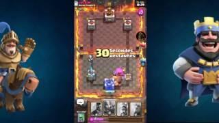Petit combat avec un abonné (clash royal)