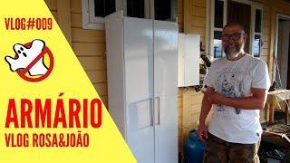 Armário Vlog#009 Rosa&João - Caça Fantasmas Brasil
