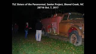 TJ our guest investigator asks spirit a question about touching the old fire truck.