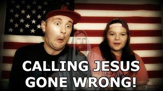 CALLING JESUS GONE WRONG! Scary Phone Calls! (888)-888-8888 - Paranormal America