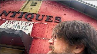 Abandoned Antique Store Vlog on my travels MY HAUNTED DIARY