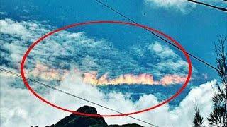 Enorme Arco de Fuego asusta a pobladores de Chiclayo Perú   VIDEO VIRAL