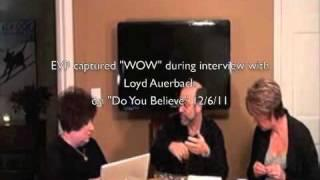 Loyd Auerbach Interview EVP caught on show
