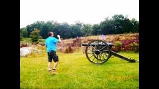 More Gettysburg Pa, Battlefield - Ghost hunt- 8-24-2012.