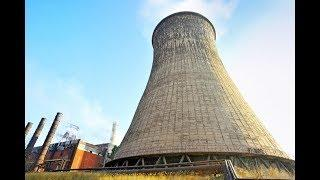 ABANDONED NUCLEAR POWER PLANT ( WENT INSIDE COOLING TOWER! )