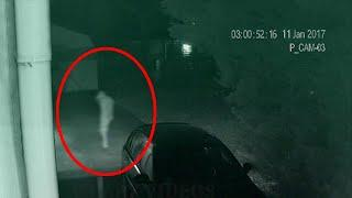 Real Spirit Caught On Camera At Night!! Paranormal Activity
