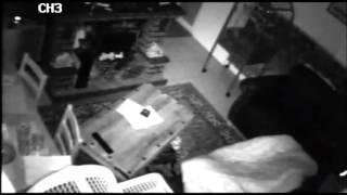 Poltergeist Activity Flying tin. At Petes house Short Clip 2 of 2