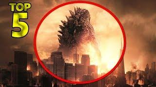 5 REAL  ALIVE GODZILLA CAUGHT ON CAMERA & SPOTTED IN REAL LIFE 6