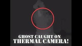 Real GHOSTLY Hooded Figure | Caught On THERMAL Cam | HAUNTED & ABANDONED Airfield |