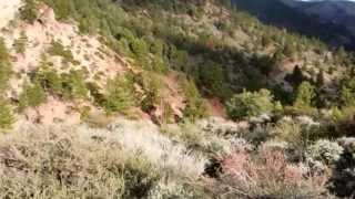 "Colorado Hill and Mogul Peak -  Part 8 ""Plateau At Sunset"""