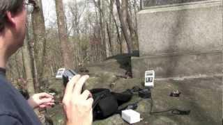 Gettysburg National Military Park Big Round Top Investigation & New Jersey Memorial