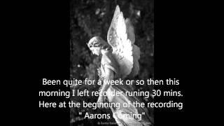 "EVP HOME "" Aarons coming""   WORSLEY PARANORMAL GROUP electronic voice phenomenon spirit ghost voice"