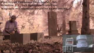 """Reverend Wilson's Plot"" EchoVox 2.1/SV-2 Prototype/ EM mic/amp experiment Pine Grove"