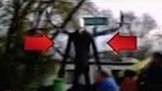 Is Slenderman Real | Slender Man Stalks Children At Halloween Party | NEW