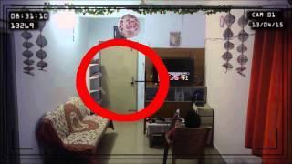 Fantasma captado en una habitacion