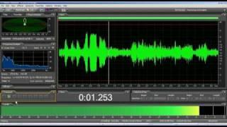 """EVP spirit ghost voice - says """"lets record something"""""""
