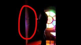 Ghost closing door in a haunted church. Paranormal activity evidence LaxTon Ghost Sweden Spökjägare