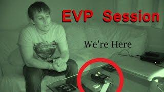Amazing EVP Session - Real Paranormal Activity Part 22