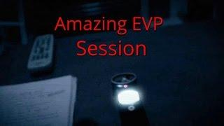 Full EVP Session - Real Paranormal Activity
